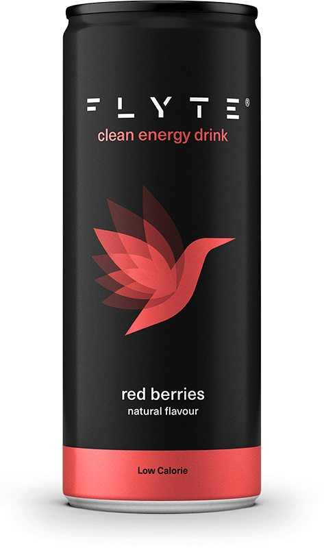 Flyte 250ml Red Berries Front